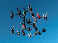 Extreme Sports Channel покажет премьеру Чемпионата Великобритании по затяжным прыжкам с парашютом