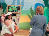 На съемках ток-шоу Каникулы в Мексике на MTV Сергей Зверев признался, что любит полных